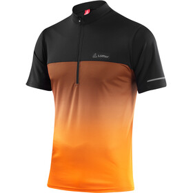 Löffler Flow Bike Shirt Half-Zip Herren orange
